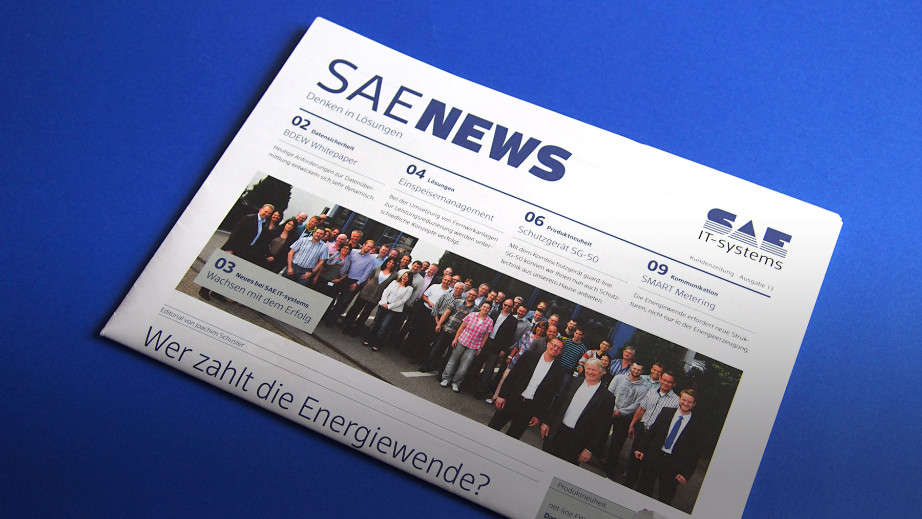 Magazine of SAE it-systems